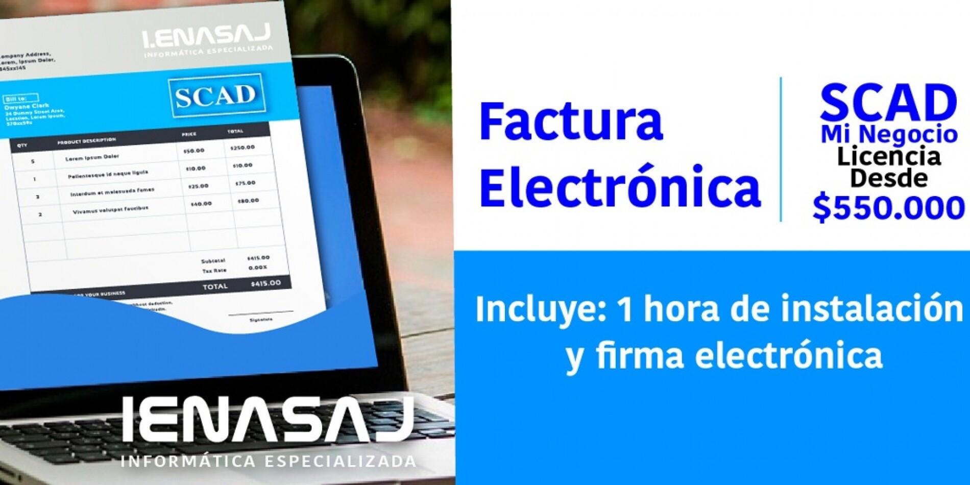 Software Factura Electrónica MiNegocio Colombia
