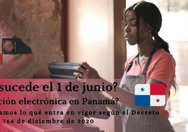 ¿Qué sucede el 1 de junio con respecto a la facturación electrónica en Panamá?